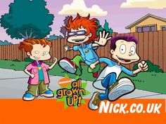 Rug Rats All Grown Up - rugrats-all-grown-up Wallpaper Rugrats All Grown Up, Next Saturday, Animated Gif, Favorite Tv Shows, Growing Up, Family Guy, Animation, Rugs, Wallpaper