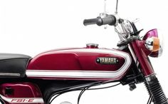 The Yamaha is an icon of titanic proportions in Britain, the moped was legal for riders as young as 16 and it was quicker than anything else in F1 Racing, Drag Racing, 49cc Moped, Motogp Valentino Rossi, Motorcycle Art, Classic Motorcycle, Yamaha Motorcycles, Lamborghini Gallardo, Motor Car