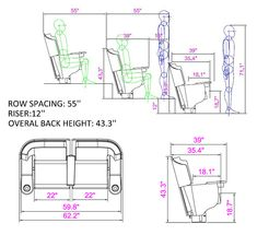 Dolphin Seating | Cinema & Auditorium Seating | VIP Wing Fixed Cinema Seating