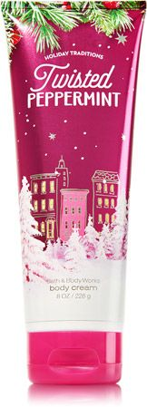 Twisted Peppermint Ultra Shea Body Cream - Signature Collection - Bath & Body Works