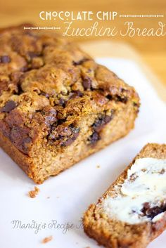 Chocolate Chip Zucchini Bread | Mandy's Recipe Box