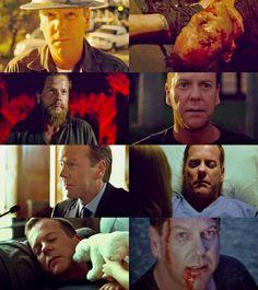Jack Bauer 24 Through All 8 Seasons!