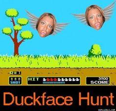 Duckface Hunt