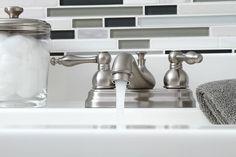 Wellington Double Handle Centerset Bathroom Faucet with Optional Pop-Up Wayfair Bathroom Sink Faucets, Amazing Bathrooms, Home Improvement, Handle, Pop, Popular, Bathroom Basin Taps, Pop Music, Home Repair
