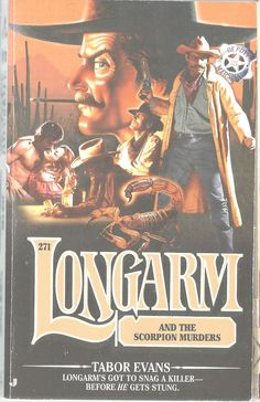 Longarm And The Scorpion Murders Tabor Evans #271 Adult Western Paperback 2001