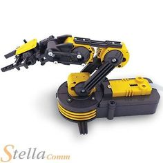 #Robot arm build your own #robotic arm science educational #construction toy kit,  View more on the LINK: 	http://www.zeppy.io/product/gb/2/111972804299/