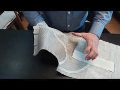 Основы пошива мужского пиджака. Конский столбик. - YouTube