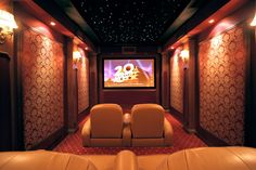 Small Home Theater Rooms Ideas ~ http://lovelybuilding.com/cheap-home-theater-rooms/