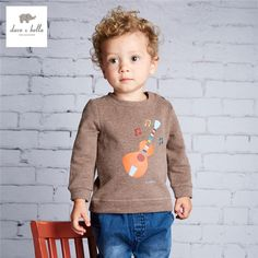 Promotion price DB3995 dave bella baby boys printed  t shirt  kids clothes boys top coffee guitar printed tees just only $25.90 with free shipping worldwide  #boysclothing Plese click on picture to see our special price for you
