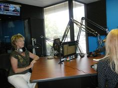 """Ci Ci Berardi Show Some Love Celebration, Dolores Seright """"Shattering Barriers"""", Kimber Leigh, and Christina Wagner of 1260 am Talk Radio ready to go live."""
