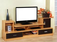 Tv Unit Furniture, Home Decor Furniture, Furniture Design, Tv Unit Decor, Tv Wall Decor, Tv Cabinet Design, Tv Wall Design, Modern Tv Wall Units, Tv Stand Designs