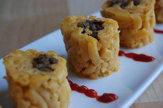 Macaroni and Cheese Mock-i Rolls - The Food in My Beard
