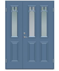 Classic Delius ytterdør fra Swedoor Exterior Doors, Interior And Exterior, 1920s House, Tall Cabinet Storage, Facade, Sweet Home, Classic, Home Decor, Metal Driveway Gates