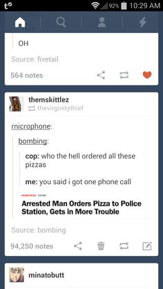 What's funnier is I'm following bombing on Tumblr and I've seen that post more than once. I'm going to post it and see if he finds it.