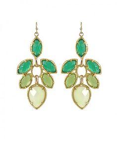 Jeanine Dangle Earrings in Orchid by Kendra Scott Jewelry $75.00