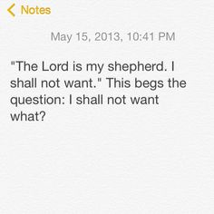 I forgot what devotional I got this from. But it's a good question to ponder :)