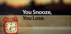 Snooze | What Happens To Your Body When You Hit The Snooze Button