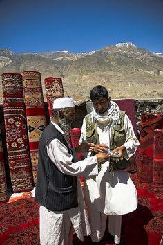 Carpet Traders of Afghanistan