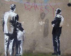 The graffiti art of Banksy