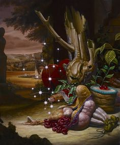 In The Real Art World: Christian Rex Van Minnen, until June 26 at Bert Green Fine Art, Los Angeles
