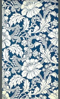 "Wallpaper pattern ""Staircase"" - England, 1893."