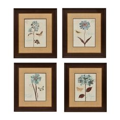 Make a gallery wall or hang them individually! Our Slate Blue Florals Framed Art Pieces are on sale for $15.00 each. Don't miss this Deal of the Day! Valid on 6/20 only.