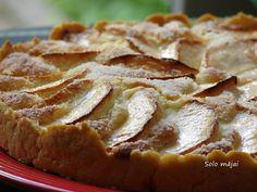 Solo mājai: Tarte aux Pommes à la Normande jeb Normandijas ābolu tarte