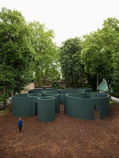 Gallery of Pezo von Ellrichshausen's Vara Pavilion at the Venice Biennale is a Maze of Circular Forms - 4