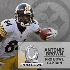 Antonio Brown named one of the four Pro Bowl Captains, 2015