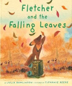 """""""Book, Fletcher and the Falling Leaves"""" by Julia Rawlinson. I absolutely LOVE Fletcher... sweet story to share with little ones about leaves falling in Autumn. Illustrations are beautiful. And great craft for after is to have kids draw a winter scene with a bare tree, then apply glue to branches and dust glitter!"""
