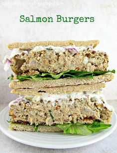 Salmon Burgers -  Use rice crispies instead of panko and crushed corn or rice chex instead of bread crumbs