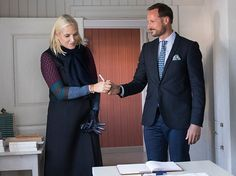 21-9-2017 Nord-Trondelag visit of Prince Haakon and Princess Mette-Marit