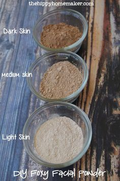 Bring Out the Natural Glow in Your Face - DIY Foxy Facial Powder - TheHippyHomemaker