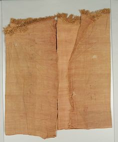 Red-Dyed Length of Linen (12 Dynasty)  MET 20.3.203a