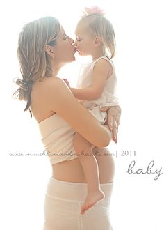 We should have this pic! With Ema still in my belly while holding Iya :)