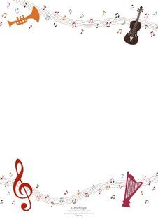 Frame Border Ideekaust Pinterest Music Border Music And