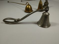 Candle Snuffers Lot Of 4 Vintage Brass Candle Snuffer, Decorative Bells, Heavy Metal, Metals, Cottage, Brass, Candles, Heavy Metal Music, Cottages