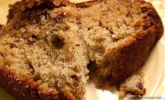 Moist Banana Bread Recipe – The Best Banana Bread Ever (with sour cream) I have add chocolate chips to mine :)