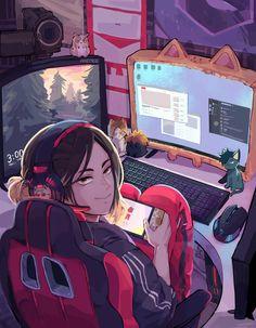 Real Anime, M Anime, Fanarts Anime, Anime Films, Anime Art, Kenma Kozume, Kuroken, Haikyuu Fanart, Haikyuu Anime