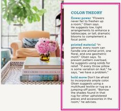 Great tips for pattern and prints