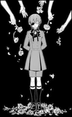 Thought it'd look nice as a GIF, though it moves a tad fast, an animated version of my edit from Black Butler Chapter 126. Hope you guys like it!