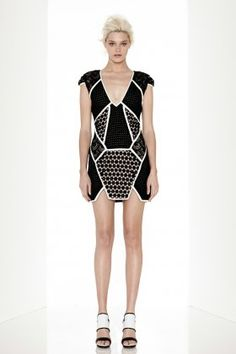 Glasswork Dress by Bless'ed Are The Meek | The Grand Social