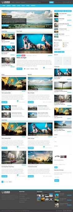 Juno | #responsive #WordPress #magazine #theme, from #Themeforest