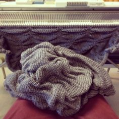 The making of a Large Textured Beanbag