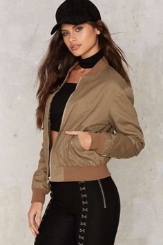Plot Twist Bomber Jacket - Clothes | Sale: Newly Added | Sale: 30% Off | Nasty Gal Essentials | Bomber Jackets | Jackets + Coats | Bombers