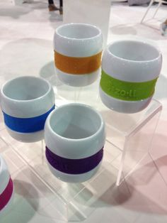 ZoLi's new training cups that take the age-old trick of putting rubber bands around a glass to a whole new level.