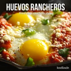 Fantastic cooking recipes are available on our website. Read more and you wont be sorry you did. Authentic Mexican Recipes, Mexican Food Recipes, I Love Food, Good Food, Yummy Food, Huevos Rancheros, Mexico Food, Mexican Cooking, Appetizer Recipes