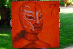 Some years ago I created a luchadora self portrait as part of an art program to provide foster kids, who were aspiring artist, an opportunity to create art and received training and hands-on-experience. The name of the program was Who Am I? Not What You See. Foster Kids, Art Programs, The Fosters, Opportunity, Portraits, Training, Hands, Create, Book