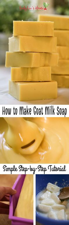 How to Make Goat Milk Soap #soapmaking