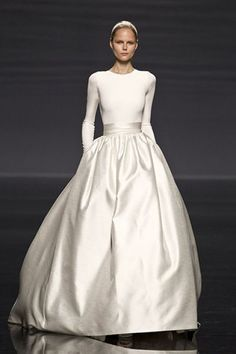 Bridal Gown Inspiration / The New Full Skirt / See available styles this season on The LANE